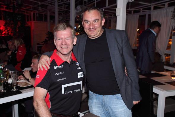 В Москве состоялась вечеринка российской гоночной команды Marussia F1 . Изображение № 4.
