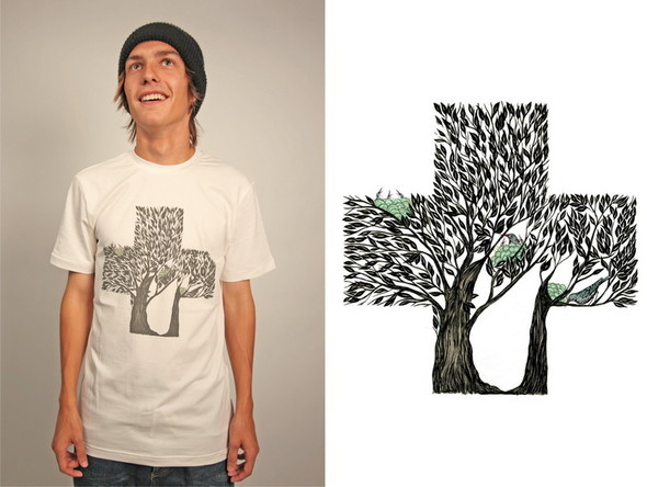 Дизайнерские футболки отT-store. Изображение № 19.
