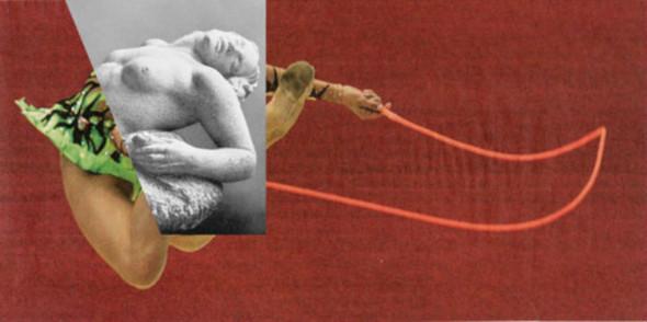 Новая атлетика: Олимпийские виды спорта в коллажах Йена Ульриха. Изображение № 9.
