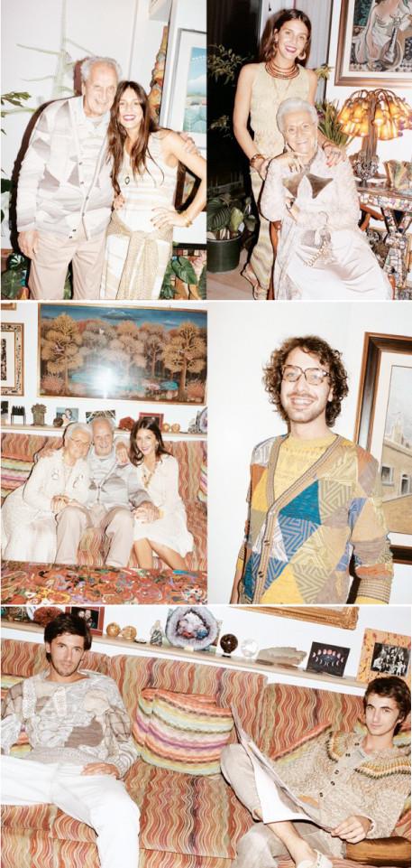Семья Миссони в рекламной кампании Missoni SS 2010. Изображение №1.