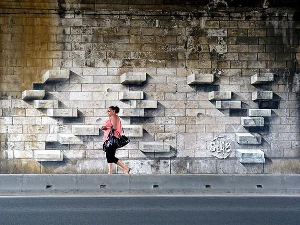 Стрит-арт в Париже. Изображение № 11.