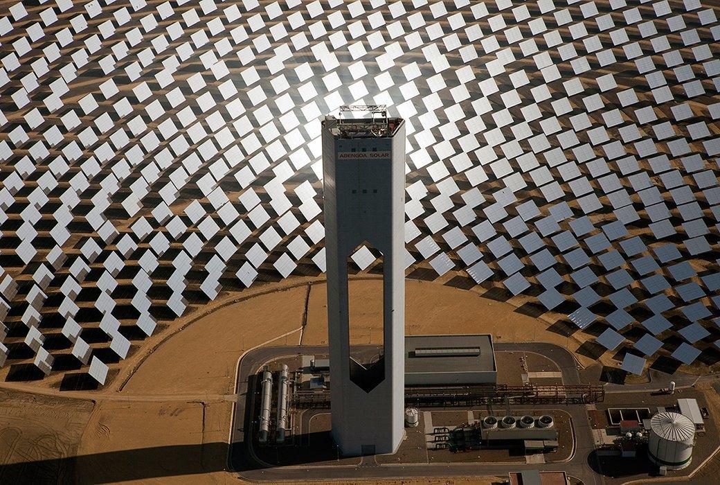 Как выглядит будущее: сотни гектаров солнечных ферм. Изображение № 15.