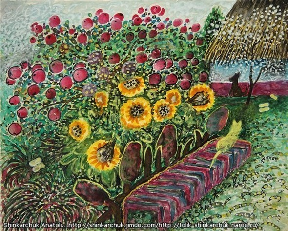 Shinkarchuk Anatoly watercolor and Japan Шинкарчук Анатолий акварель и Япония. Изображение № 2.