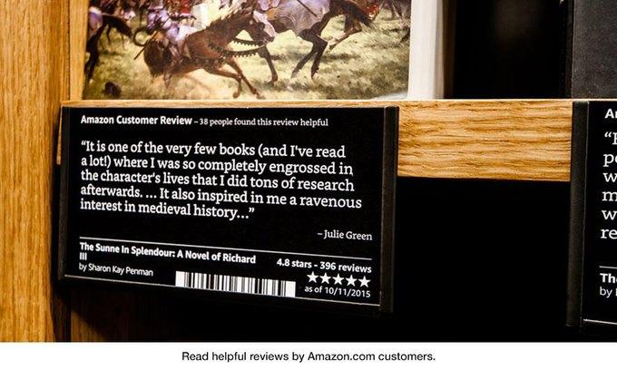 Amazon открыла книжный магазин в Сиэтле. Изображение № 3.
