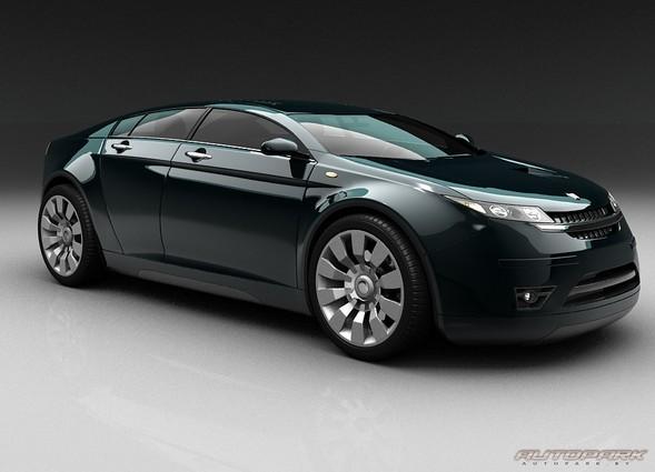 Новый концепт от ГАЗ - 5000 GL. Изображение № 1.