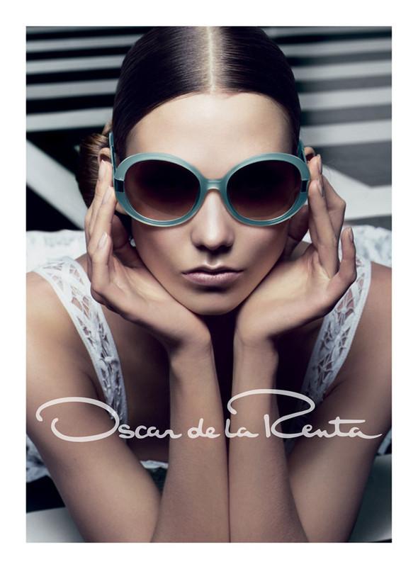 Кампания: Карли Клосс для Oscar de la Renta SS 2012. Изображение № 6.