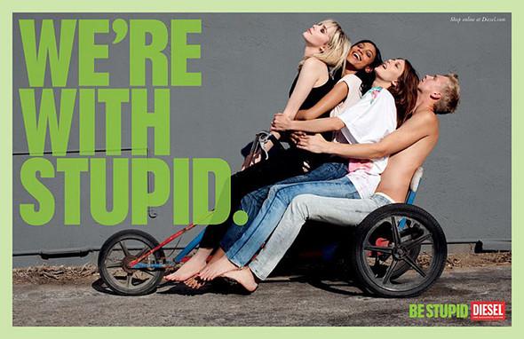 Кампания Be Stupid. Изображение № 8.