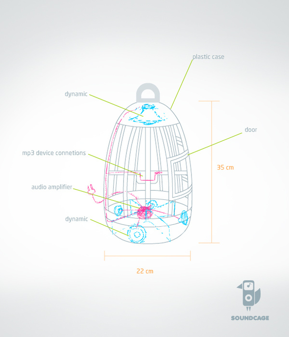 Наши наконкурсе Sound Innovation портала DesignBoom. Изображение № 1.