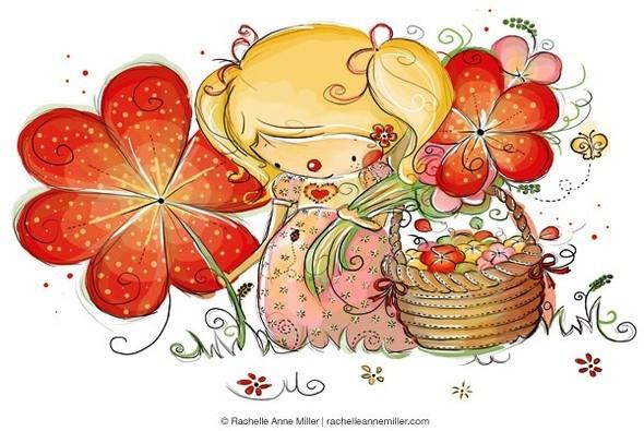 Иллюстратор Rachelle Anne Miller. Изображение № 22.