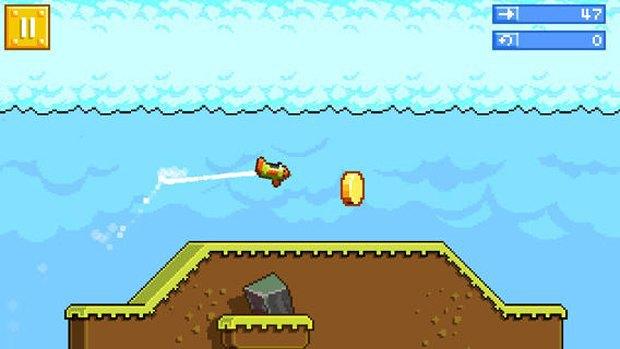 Создатели Angry Birds представили свою версию Flappy Bird. Изображение № 2.