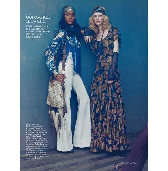 5 новых съемок: Interview, Marie Claire и Vogue. Изображение № 36.