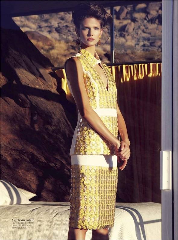 Съёмка: Марло Хорст и Кендра Спирс для австралийского Vogue. Изображение № 9.