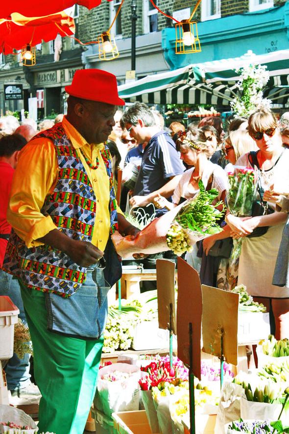 Columbia Road Flower Market/Цветочный рай. Изображение № 2.