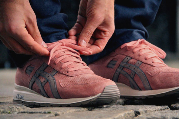 Ronnie Fieg x ASICS GT-II Rose Gold. Изображение № 1.