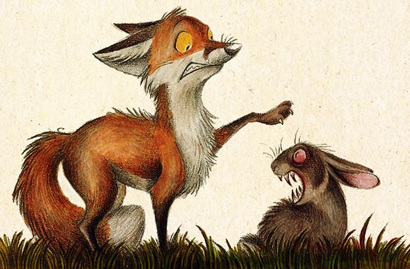 Забавные иллюстрации из жизни лисиц от Skia. Изображение № 5.