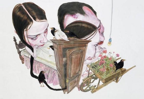 """""""Искусство расширенного сознания"""" в полотнах швейцарского художника. Изображение № 4."""