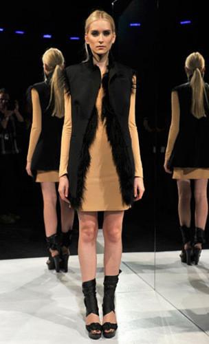 Lublu Kira Plastinina FW 2011 на показе на Нью-Йоркской неделе моды. Изображение № 22.