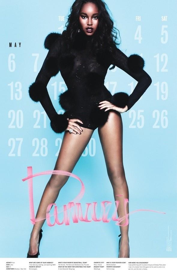 Съёмка: Календарь журнала LoveCat на 2012 год. Изображение № 6.