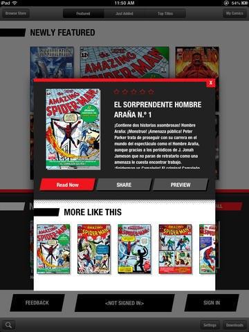 Версия приложения Marvel Global Comics для iPad. Изображение № 2.