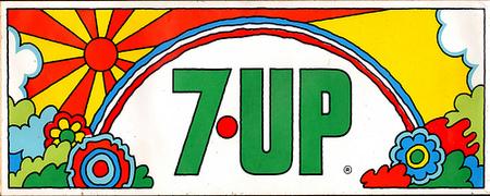 Графика 70-х thegreat hippie 7Up. Изображение № 12.