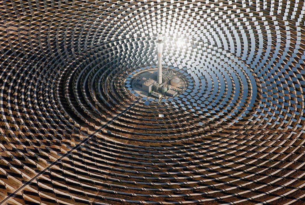 Как выглядит будущее сотни гектаров солнечных ферм Look