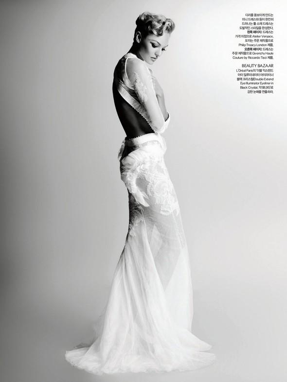 Съёмка: Карл Лагерфельд для Harper's Bazaar. Изображение № 6.