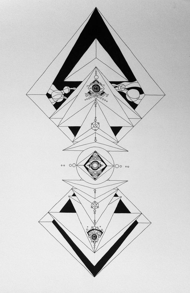ether of geometry. Изображение № 12.