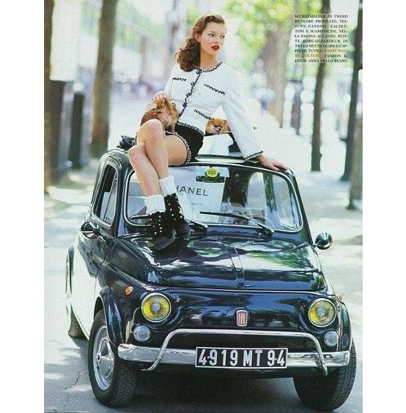 Архивная съёмка: Кейт Мосс для итальянского Vogue, 1993. Изображение № 6.
