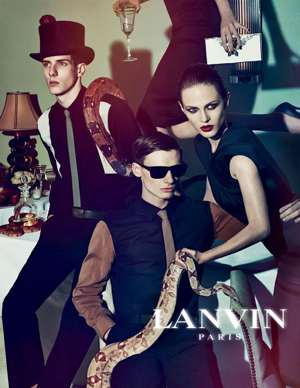 Кампания: Lanvin SS 2012. Изображение № 7.