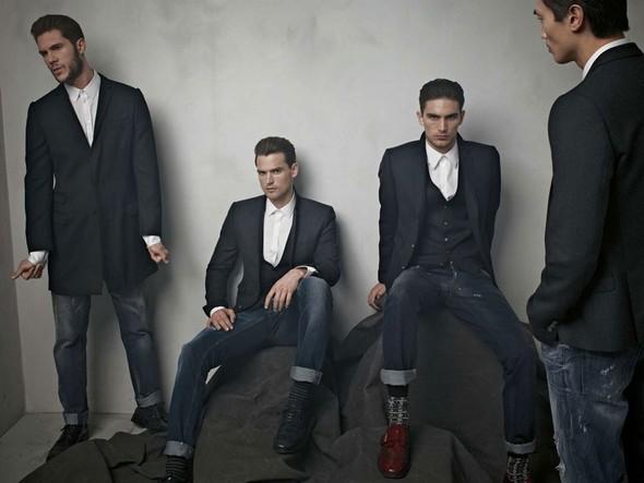 Лукбук: Dolce & Gabbana FW 2011 Men's. Изображение № 43.