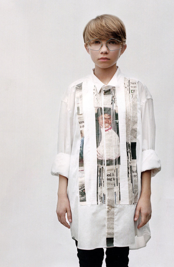 TAVI GEVINSON for POP magazine. Изображение № 2.