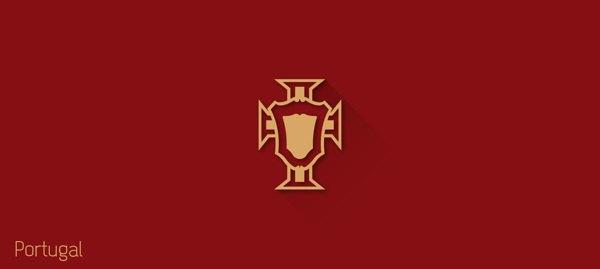 Представлены «плоские» версии гербов национальных сборных . Изображение № 30.