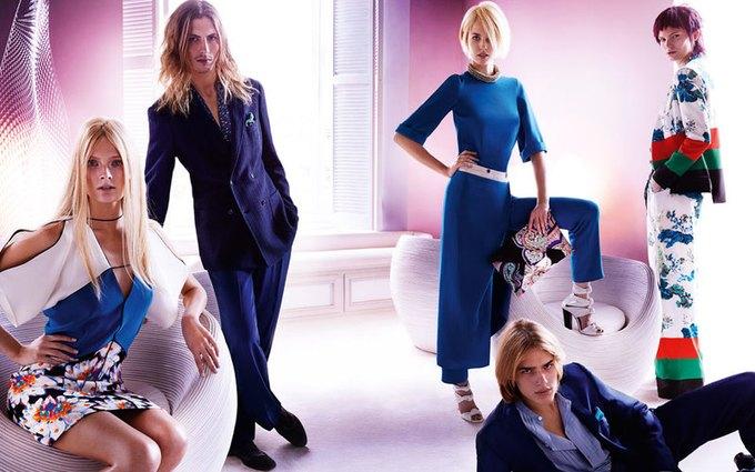 Alexander McQueen, Celine и LUBLU Kira Plastinina показали новые кампании. Изображение № 9.