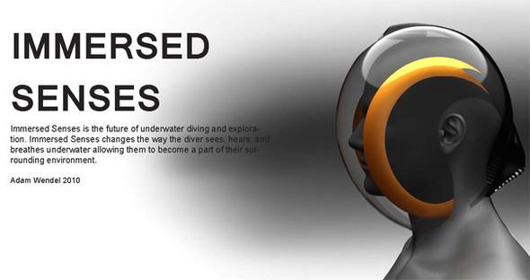 Подводный шлем- Immersed Senses. Изображение № 4.