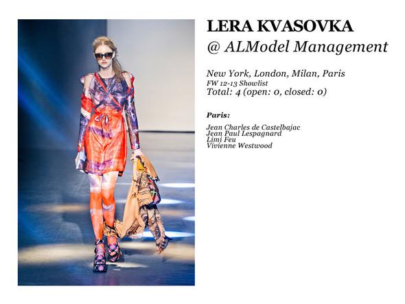 Al Model Management: Сезон показов осень-зима 12.13. Изображение № 8.