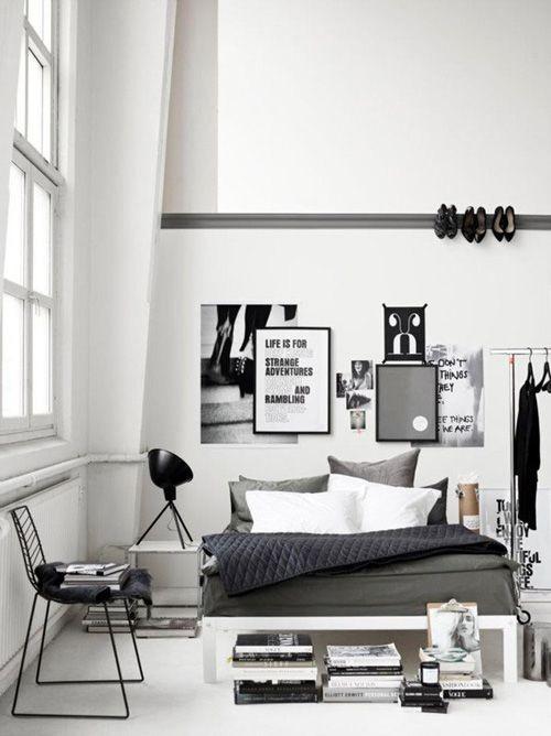 Black&white - 33 красивейших интерьера черно-белой гаммы. Изображение № 1.