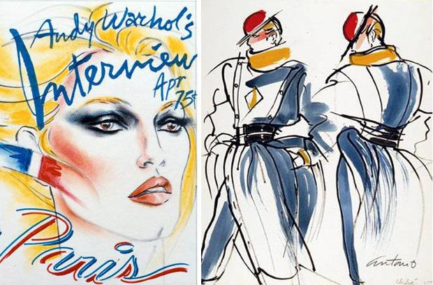 Antonio Lopez - легендарный fashion-иллюстратор. Изображение № 9.