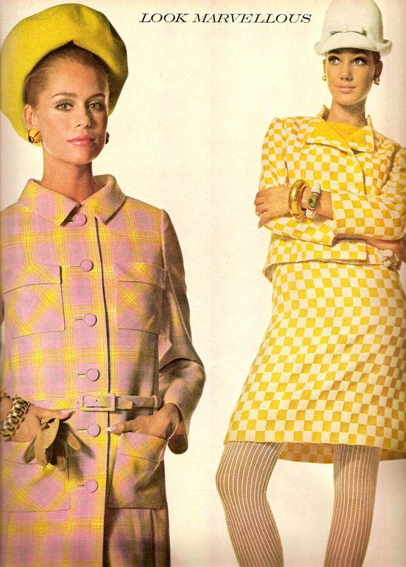 «Выгляди великолепно» каквVogue 1967 года. Изображение № 6.