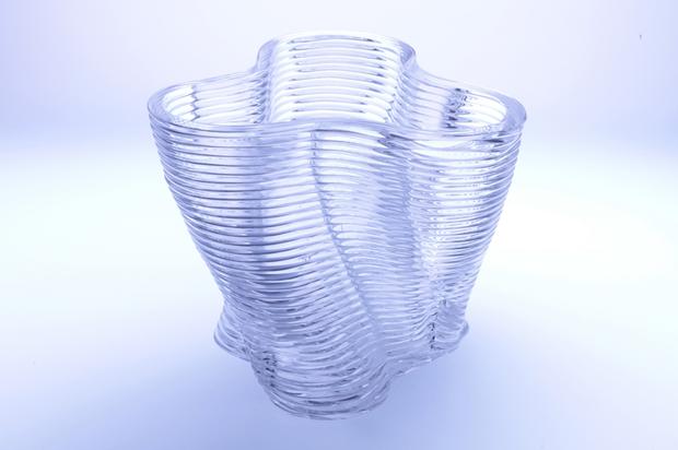 В MIT показали печать расплавленным стеклом иизделия изнего. Изображение № 2.