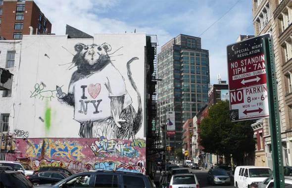 Изображение 54. Banksy (уличная мышь – герой).. Изображение № 54.
