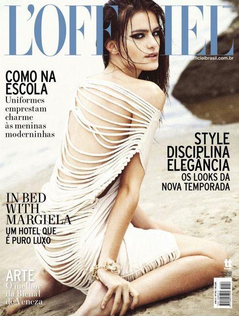 Обложки: Harper's Bazaar и LOfficiel. Изображение № 2.