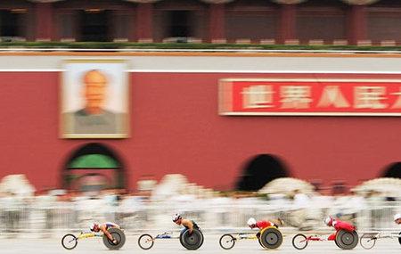 Лучшие фотографии Паралимпийских игр-2008 вПекине. Изображение № 12.