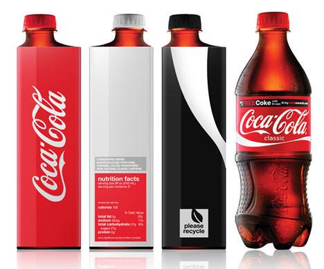 Новая классика. Бутылка Coca-Cola. Изображение № 3.