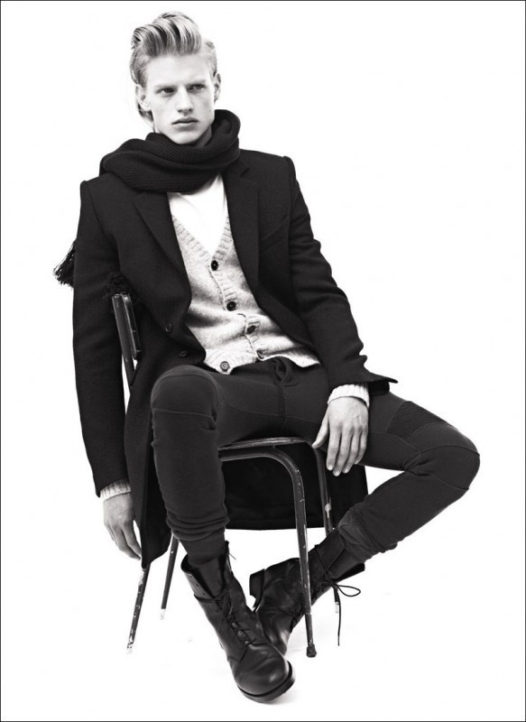 Balmain Homme AutumnWinter 2010 Lookbook. Изображение № 1.