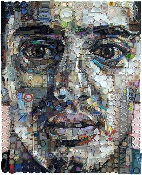 Картины из мусора. Изображение № 3.