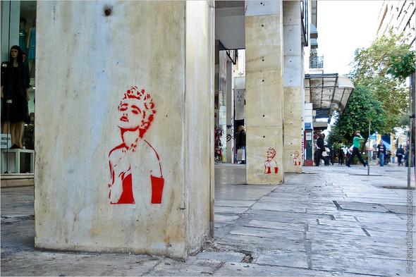 Стрит-арт и граффити Афин, Греция. Изображение № 20.