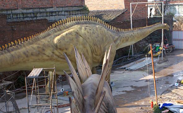 """""""Dinosaurs unleashed"""" или динозавры в Лондоне. Изображение № 4."""