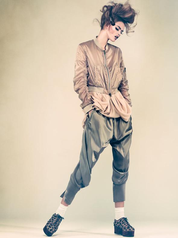 Съёмка: Фрида Густавссон для шведского Elle. Изображение № 2.