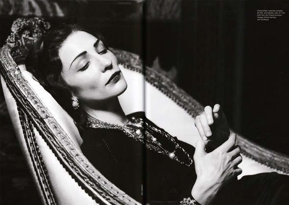 Cate Blanchett as Coco Chanel. Изображение № 5.