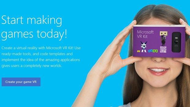 У Microsoft нашли альтернативу картонным VR-очкам Google. Изображение № 1.